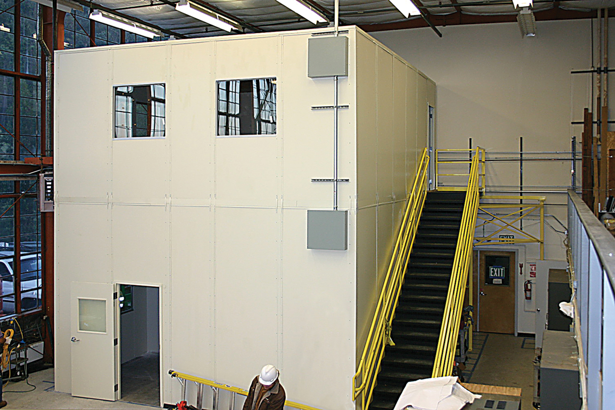 in plant modular office 2 story prefab inplant offices incorporated
