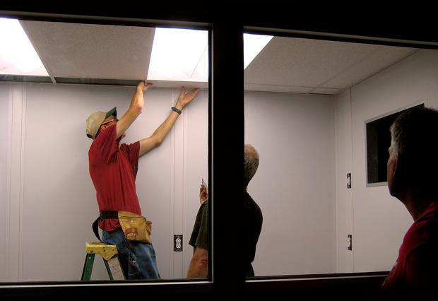 Installing an Modular InPlant Office Building