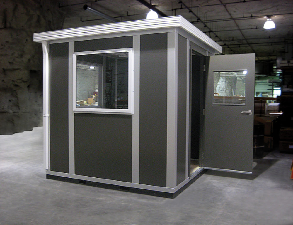 Guard Shack or Exterior Portable Rooms are Custom to Every Order