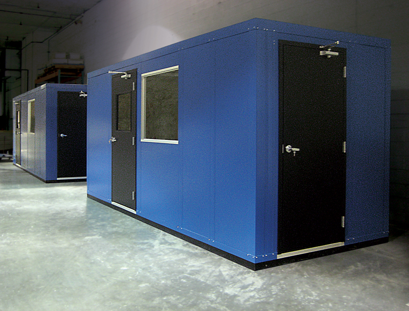 InPlant Portable Offices with Custom Paint