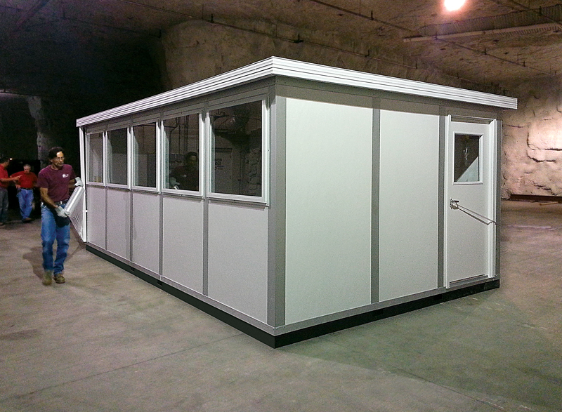 Inplant modular security buildings for Portable shed office