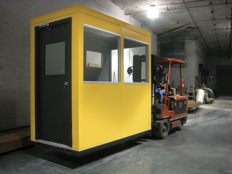 InPlant Prefab Security Guard House
