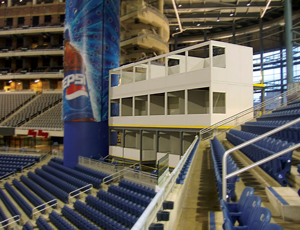 InPlant Stadium Media Booths