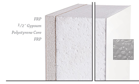 InPlant's FRP Faced Wall Panel