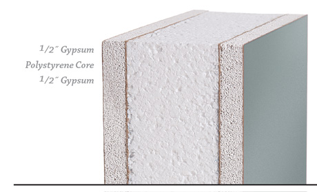 InPlant Painted Gypsum Wall Panel