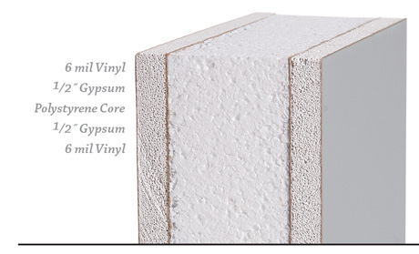 InPlant's Vinyl Faced Wall Panel