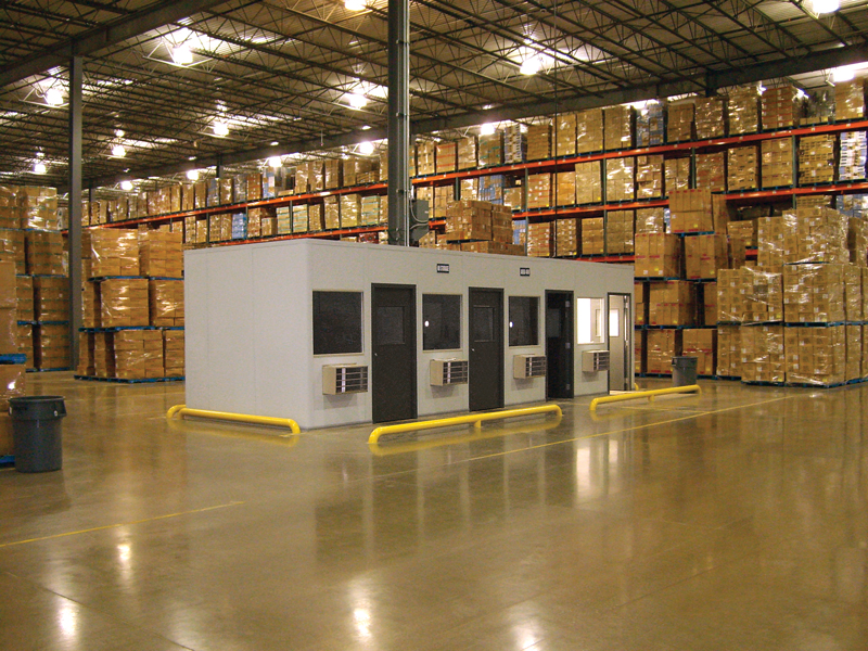In-plant Warehouse Modular Offices